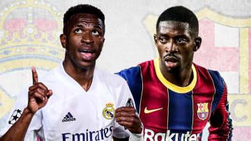 Vinicius et Ousmane Dembélé sont titulaires ce samedi soir.
