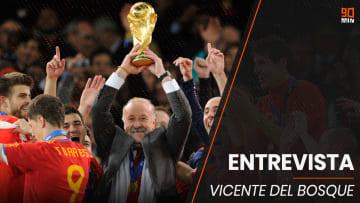 Entrevista con Vicente Del Bosque, entrenador campeón del mundo con España en 2010