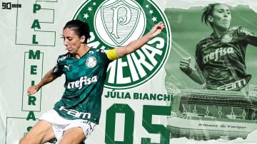 Simbolizando a juventude do futebol feminino, Julia Bianchi está disputando sua segunda final do Brasileirão