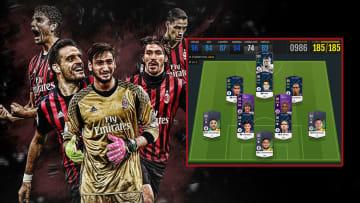 Xây team color AC Milan kết hợp mùa Loyal Heroes (LH) cực khủng trong FO4