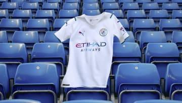 Manchester City's away kit for 2021/22
