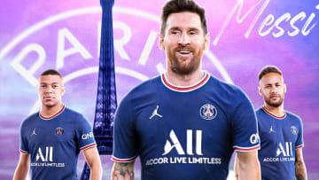 Messi mit Mbappé & Neymar: PSG wird zum Dream Team