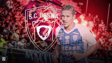 Chaouki Ben Saada la saison dernière avec Bastia.