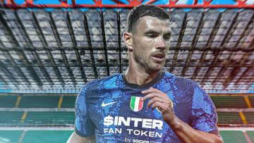 Edin Dzeko está muy cerca de llegar al Inter de Milán
