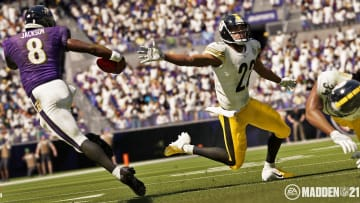Madden 21 cover was revealed Tuesday featuring NFL MVP Lamar Jackson, quarterback of the Baltimore Ravens