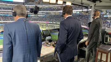 Steve Levy, Brian Griese, and Louis Riddick