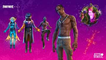 Travis Scott took the stage on Sweaty Sands island and set a new Fortnite record for the most players participating in the game.