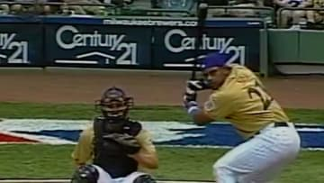 Sammy Sosa's 2002 performance in the Home Run Derby still defies logic when watching his powerful moon shots.