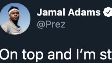 New York Jets safety Jamal Adams posted another cryptic tweet.