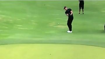 Tom Brady fue criticado en el evento de golf The Match II