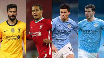 Liverpool, Manchester City, Alisson Becker, Virgil Van Dijk, Rodri, Ruben Dias
