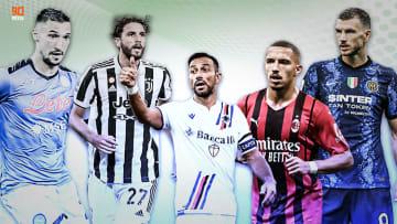 Gli sponsor tecnici in Serie A (stagione 2021-22)