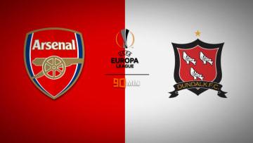 อาร์เซนอล พบ ดันดอล์ค ยูฟ่า ยูโรปาลีก Arsenal vs Dundalk FC UEFA Europa League
