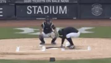 Stanton golpeó a su compañero Tanaka con un batazo