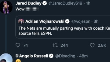 Jared Dudley and D'Angelo Russell react to Kenny Atkinson being fired by the Nets
