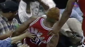 Former Chicago Bulls star Dennis Rodman