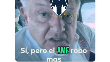 Rayados beat America with a controversial penalty.