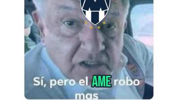 Rayados ganó al América con un polémico penal.