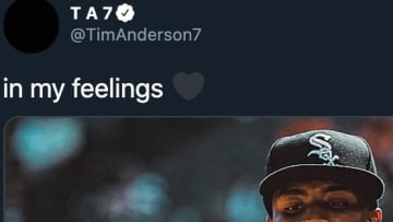 Chicago White Sox SS Tim Anderson's latest tweet proves he can't wait for the return of baseball.