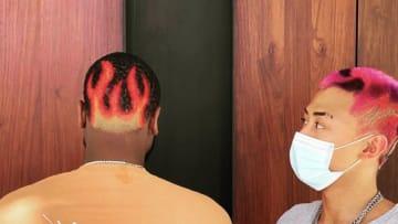 Dwyane Wade's Hair