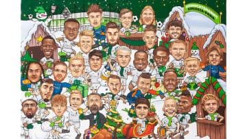 Der neue Adventskalender der Borussia