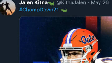 Former longtime NFL QB Jon Kitna's son, Jalen, committed to Florida on Tuesday.