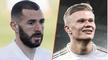 Karim Benzema et Erling Haaland bientôt associés ?