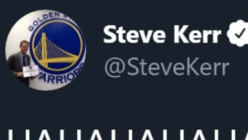 Warriors head coach Steve Kerr took yet another swipe at the President.