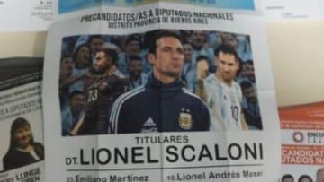 Boleta para Scaloni presidente