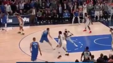 Luke Doncic put Jrue Holiday on skates in overtime on Wednesday night