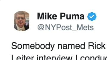 New York Mets beat writer Mike Puma calls out SI writer