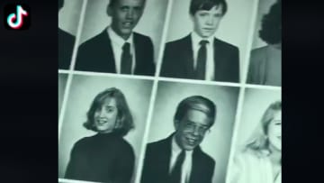 'The Office' fan shows off her mom's yearbook which includes Ed Helms and Brian Baumgartner on TikTok.