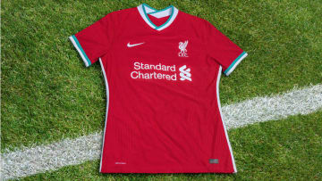 Liverpool's new 2020/21 home kit