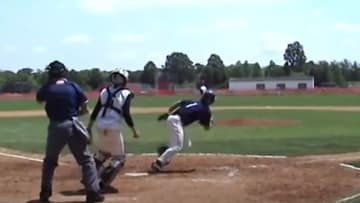 Mike Trout's high school highlights are incredible.