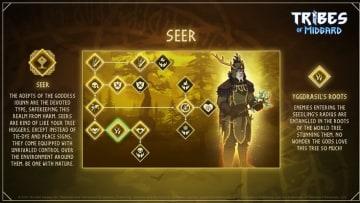 The Seer class breakdown