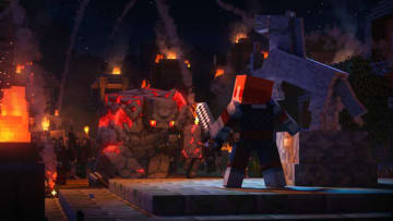 Minecraft Dungeons Enchantments work on a slightly different scale than in the original title