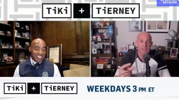 "Tiki Barber and Brandon Tierney on ""Tiki and Tierney"""