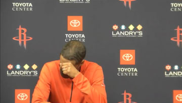 Stephen Silas after the Houston Rockets lost their 20th consecutive game.