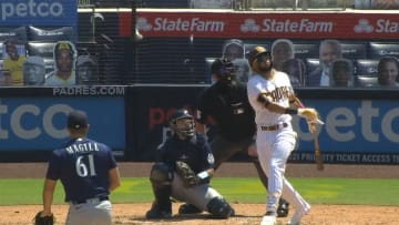 Fernando Tatis Jr. hits his Major League-leading 13th home run of the season