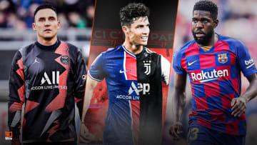 Navas, Cristiano Ronaldo et Samuel Umtiti font l'actu mercato