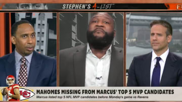 "Stephen A. Smith, Marcus Spears and Max Kellerman argue on ""First Take"""