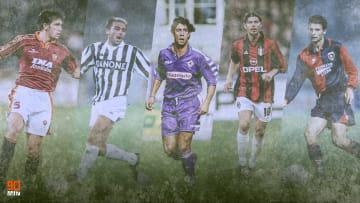 Main Sponsor Serie A degli anni '90