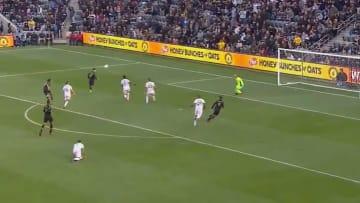 La figura de Los Angeles FC anotó su primer gol de la campaña ante el Inter Miami