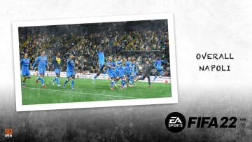 Overall del Napoli su FIFA 22