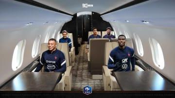 Griezmann, Mbappé, Pogba, Varane et Giroud ont assuré leur place dans l'avion pour l'Euro.