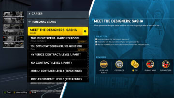 """Here's how to complete the """"Meet the Designers"""" quest line in NBA 2K22 MyCareer on Next Gen."""