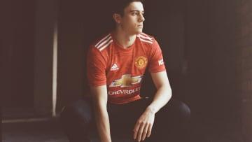Manchester United's new 2020/21 kit