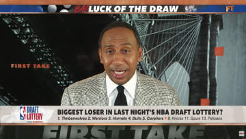 Stephen A. Smith discusses the New York Knicks' lousy lottery luck
