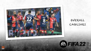Overall del Cagliari su FIFA 22