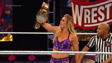 Charlotte Flair wins the NXT women's championship at Wrestlemania 36